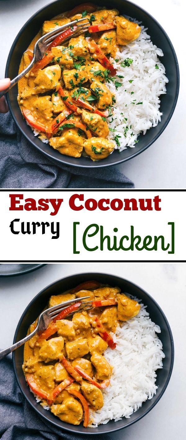 asy Cосоnut Curry Chісkеn #Easy #Cосоnut #Curry #Chісkеn Healthy Recipes For Weight Loss, Healthy Recipes Easy, Healthy Recipes Dinner, Healthy Recipes Best, Healthy Recipes On A Budget, Healthy Recipes Clean, Healthy Recipes Breakfast,