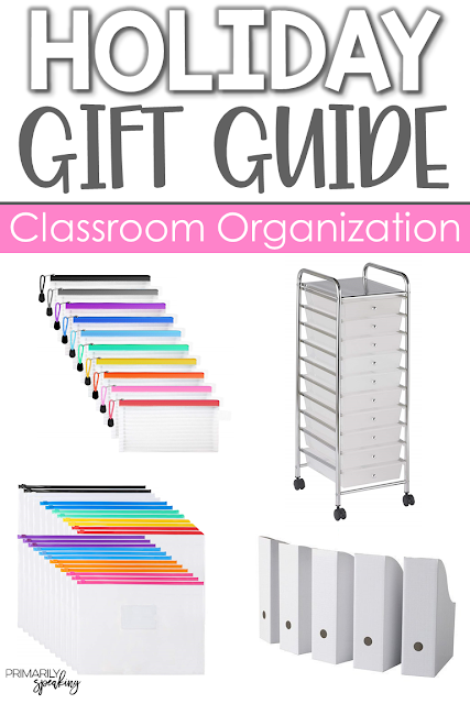 teacher gift ideas organization