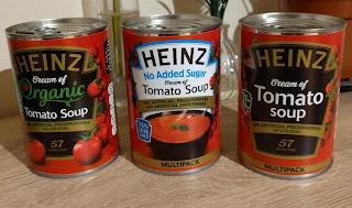 Heinz tomato soup range
