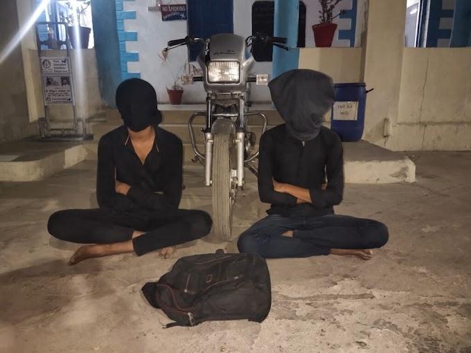 ભુજીયા તળેટીમાં કેમેરાની લૂંટ ચલાવનાર આરોપીઓ પોલીસના સકંજામાં