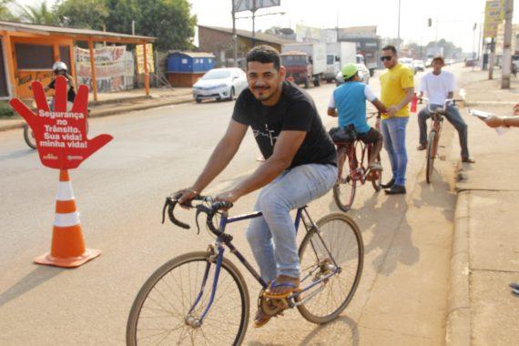 Detran Rondônia alerta sobre direitos e obrigações dos ciclistas no trânsito