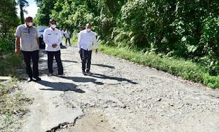 Gubernur Sumut Akui Infrastruktur di Nias Utara dan Barat Perlu Pembenahan