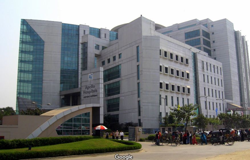 Apollo Hospitals Dhaka Location Address Phone Number Specialist - Map of united hospital dhaka