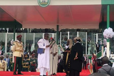 Checkout What Buhari Said During Inauguration For 2nd Term