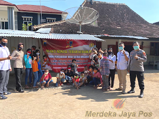 Bhaksos Alumni SIP Angkatan 47 Berbagi Bantuan Dan Santunan