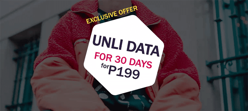 GOMO to offer UNLIMITED 30-day data for VisMin users on March 15, priced at PHP 199!