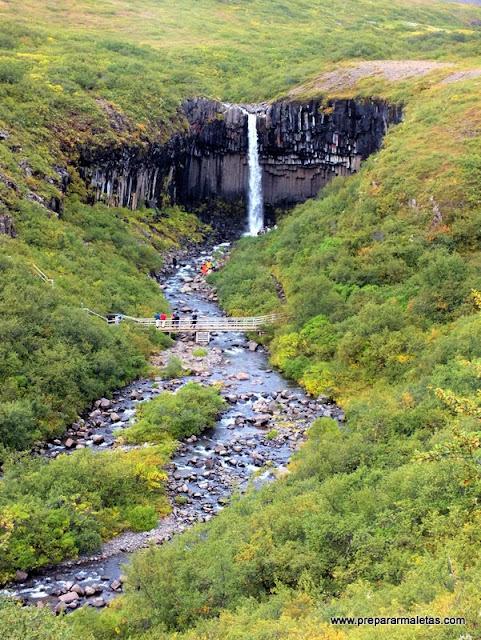 rutas de senderismo y cascadas en Islandia