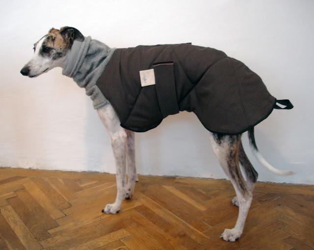 Whippet mantel