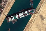 Harus Bayar Denda $900 Juta, Kapal Kargo 'MV Ever Given' Disita Mesir