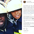 [VIDEO]: AY rock with Tboss at The Nigerian Fire service center  | Fans react