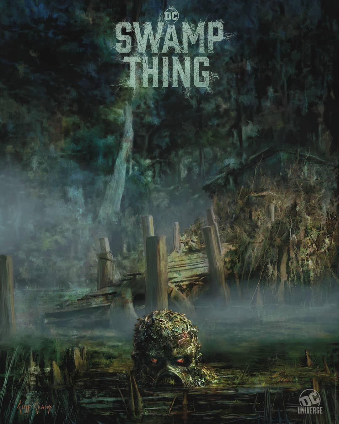 The Blot Says...: SDCC 2019 Exclusive Swamp Thing Poster
