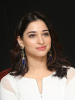 Tamanna dazzling at Abhinetri press meet-cover-photo