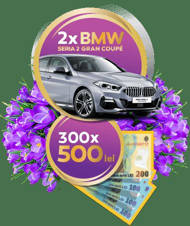Concurs Doncafe 2021 - Castiga 2 masini BMW Seria 2 Gran Coupé - promotie - castiga.net