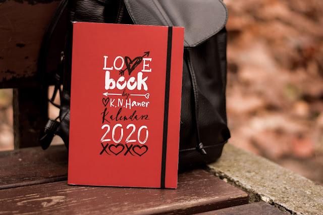 "K.N. Haner - ,,LOVE book by K.N. Haner. Kalendarz 2020"" (recenzja)"