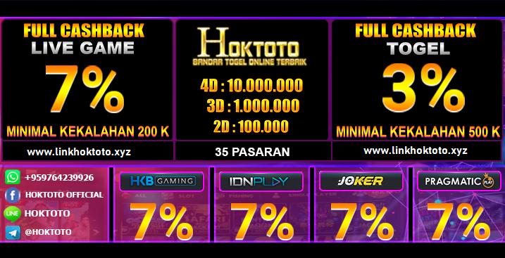 Link Alternatif Hoktoto