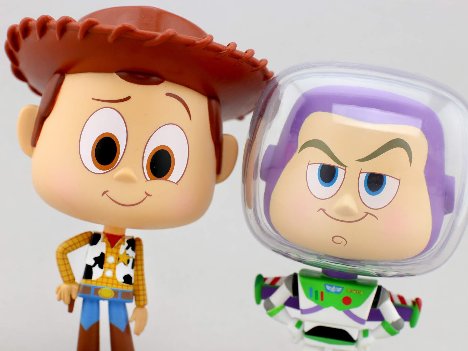 "Toy Story funko Woody + Buzz Lightyear ""Vynl"" Figures"