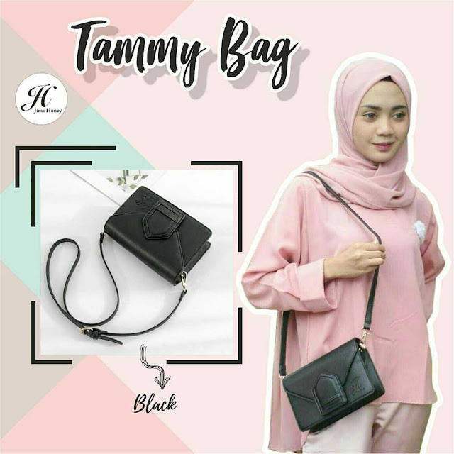 Jims Honey Tammy Bag Black