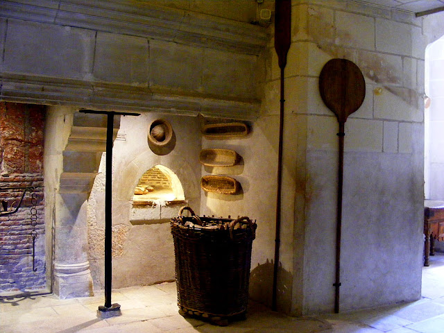 Bread oven in the kitchens of the Chateau of Chenonceau, Indre et Loire, France. Photo by Loire Valley Time Travel.