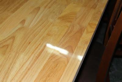 Ván gỗ phủ keo bóng