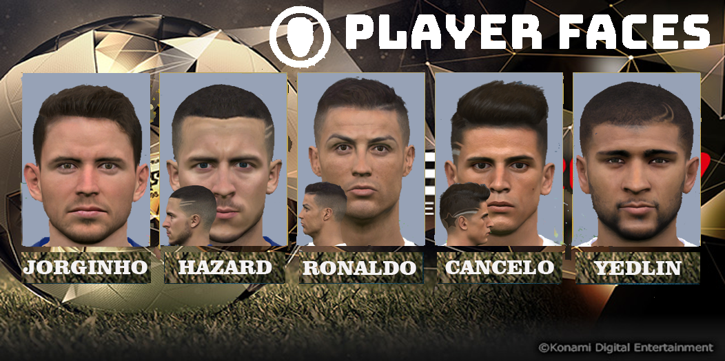 PES 2017 Facepack V.5 by Dicky