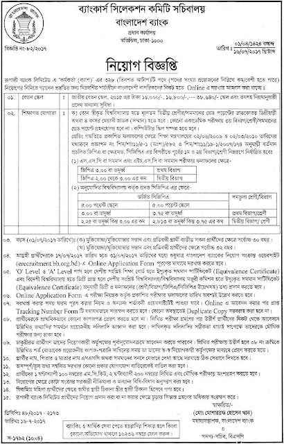 Bank Job Circular : Career at Officer (Cash) of Rupali Bank Limited