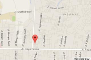 Peta/ Denah Lokasi Pekanbaru-ART Sesuai Google Map