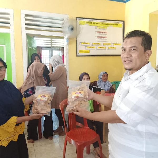 Olahan Lokan dalam Program Kemitraan Masyarakat di Desa Serangai, Kecamatan Batik Nau, Bengkulu Utara