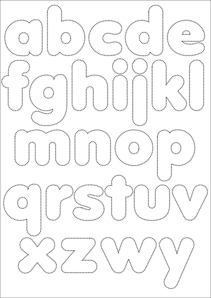 Quilling Letters Template on