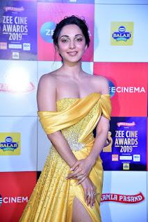 Kiara Advani At Zee Cine Awards 2019
