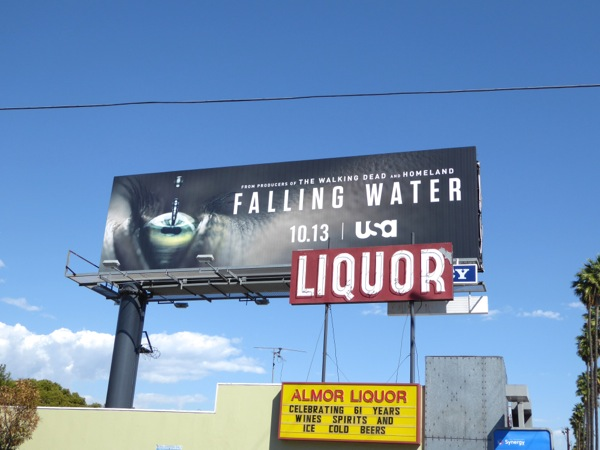 Falling Water series premiere billboard