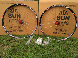 Wheelset 27.5 Sun Ringle Charger Pro 3in1