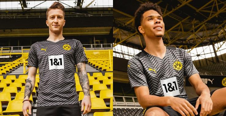 Borussia Dortmund 21 22 Away Kit Released Footy Headlines
