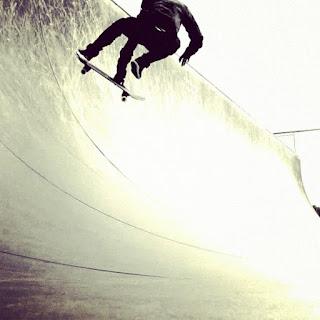 Mark Jansen Skateboarding Adelaide Halfpipe