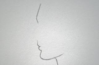 مدونة أرسم بالرصاص تعلم رسم البروفايل الجانبي للوجه خطوة بخطوة