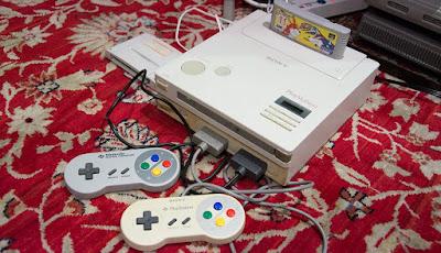 Prueba de funcionamiento de la Snes Playstation!!
