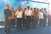 Bupati Terima Resmi Hibah Kapal Pelra Dari Kementerian Perhubungan