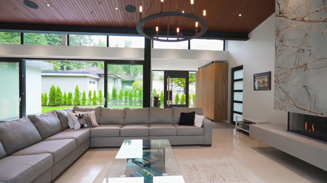 33 Interior Design Photos vs. 4011 Lions Ave, North Vancouver, BC Luxury Contemporary House Tour