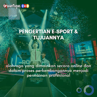 Pengertian E-Sport & Tujuannya