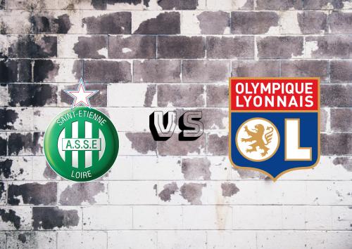 Saint-Étienne vs Olympique Lyonnais  Resumen