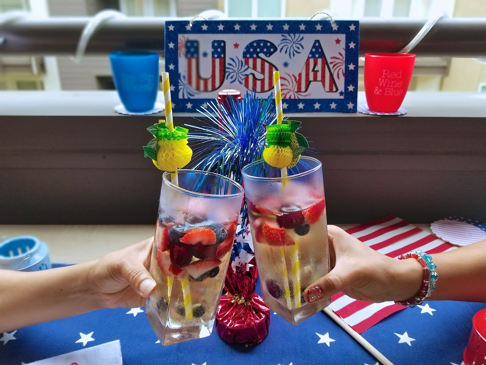 Red Wine Blue The Ultimate 4th Of July Cocktail Recipes