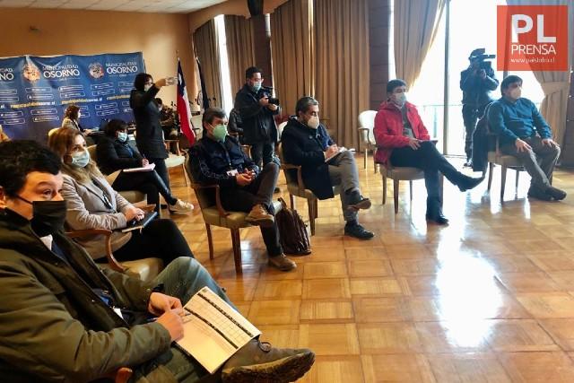 Osorno: se suspende instalación de vías reversibles