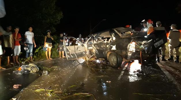 Grave acidente na MA 204 deixa duas crianças mortas e mais seis feridos