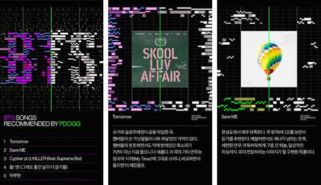 Piosenki BTS polecane przez PDogga