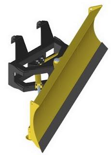 Angling Blade (A-Blade) bulldozer