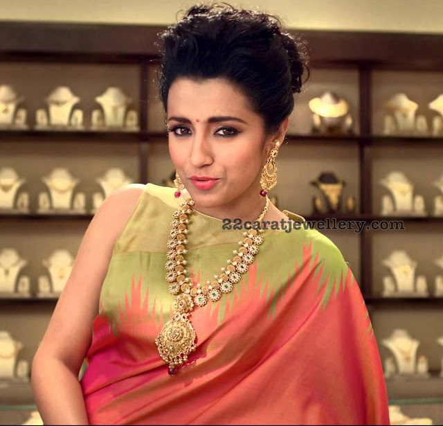 Trisha Antique Bottu Mala