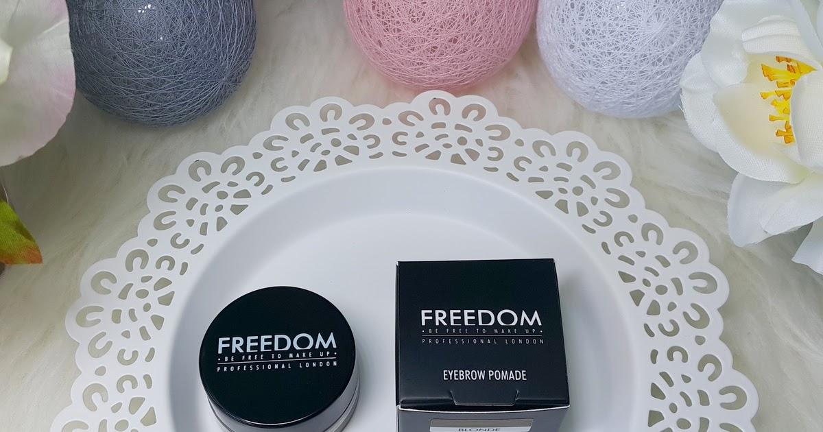 Pomada Do Brwi Freedom Blonde Subiektywne Piekno Blog