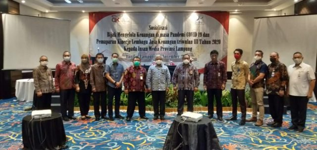 OJK Provinsi Lampung Penilaian Kinerja Sektor Jasa Keuangan