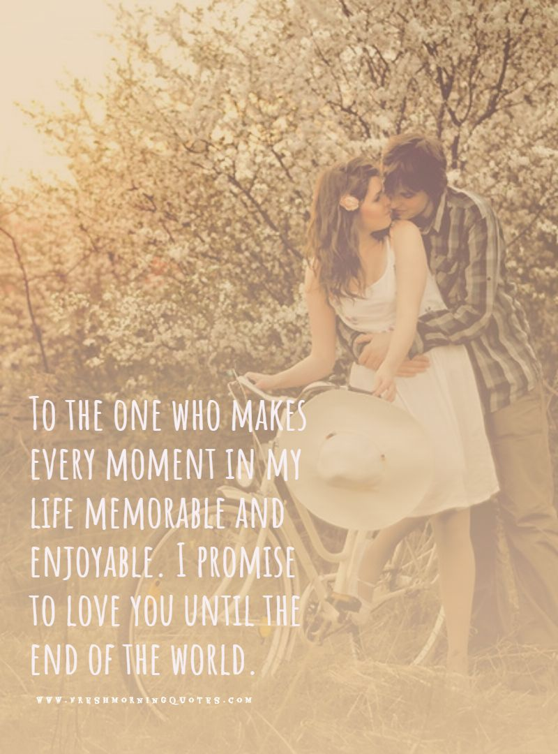 word for never giving up love promise quotes