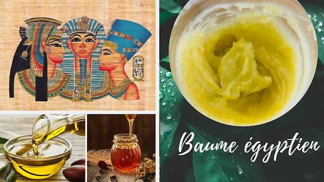 Recette de BAUME des mayas : trésor égyptien 100% naturel