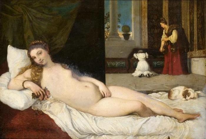 Venus of Urbino,Titian
